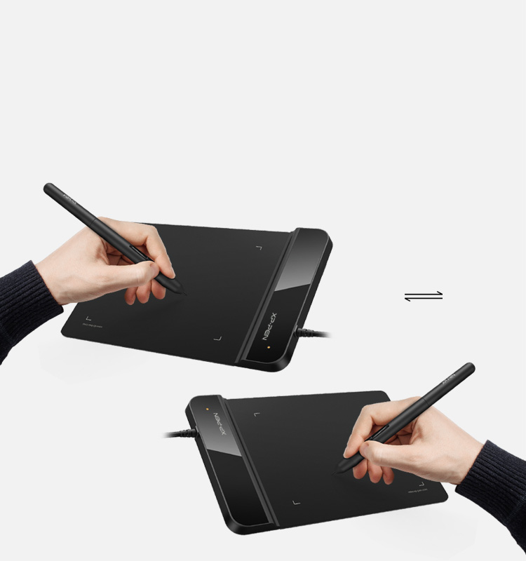 Star G430S digital art pad Design for Both right and left hand use