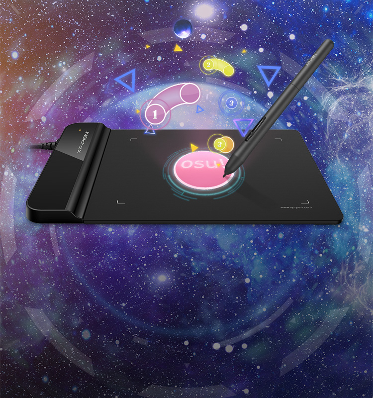 XP-Pen Star G430S entry level drawing tablet for OSU Game Play